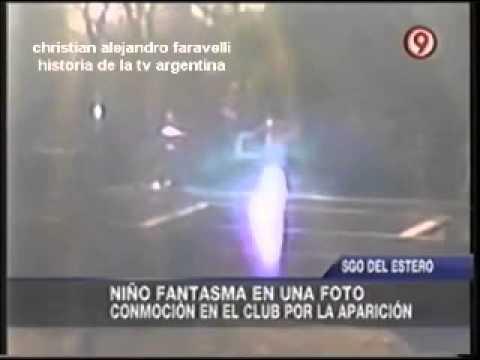 HISTORIA DE LA TV ARGENTINA: NIÑO FANTASMA EN UNA FOTO / 2012