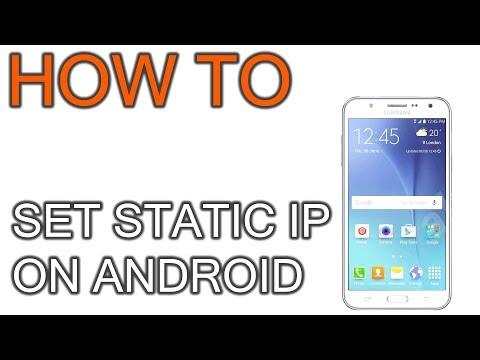 How To Set Static IP On Android Phone And Tablet