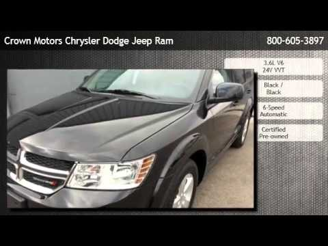 2012 Dodge Journey Sxt Wyoming Youtube