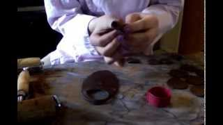 Repeat youtube video Easy Chocolate Rose Tutorial