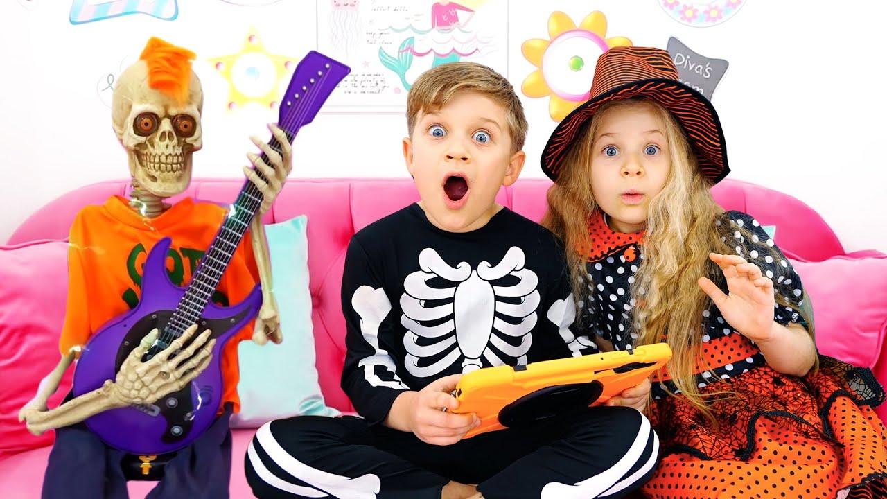 Diana y Roma Historias de Halloween para niños