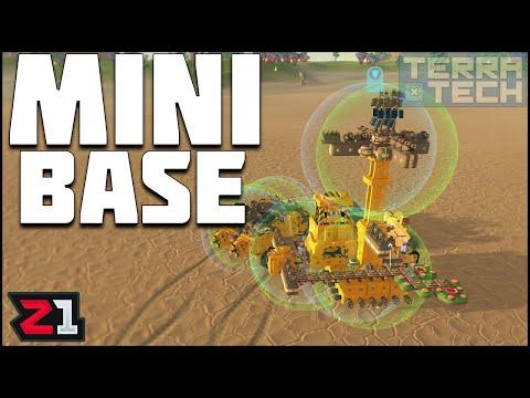 Building A MINI Base ! TerraTech Ep 3 | Z1 Gaming
