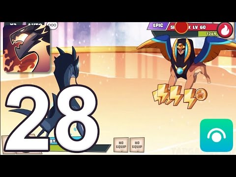 Mino Monsters 2: Evolution - Gameplay Walkthrough Part 28 - Event Island: Sphionix (iOS, Android)