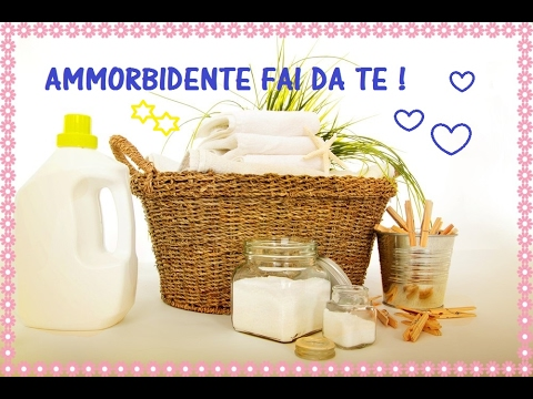 AMMORBIDENTE FAI DA TE | DIY FABRIC SOFTENER || BabyAli