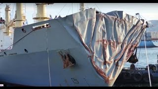 ships collision in Gibraltar:Human Error-Case Study on true incident