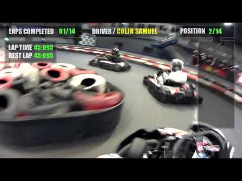 Teamsport Karting, Leeds, Feb 2016