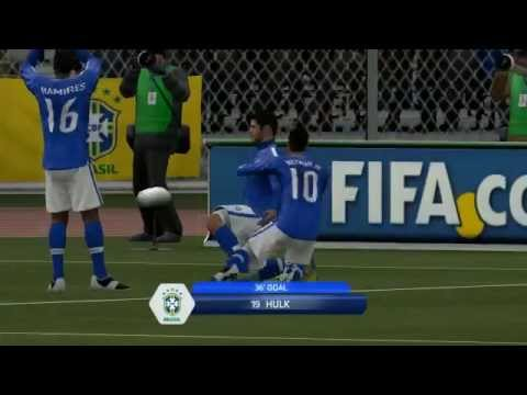 FIFA 14 amazing game Real Madrid VS Brazil 4-3