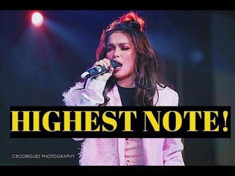 KZ Tandingan did the HIGHEST NOTE on Singer 2018 China l Jessie J. CHOKED