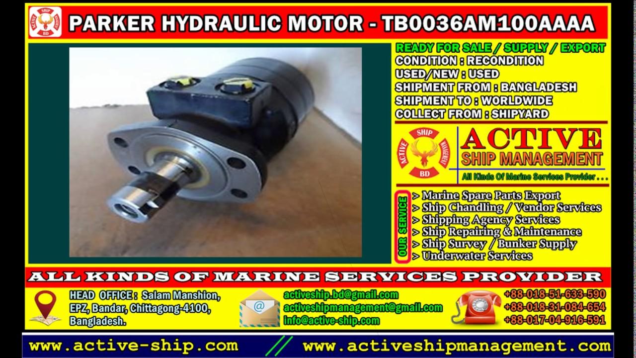 Parker gerotor motor for Parker nichols hydraulic motor