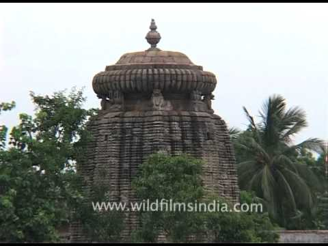 Lingaraj Temple - one of the oldest temples of Bhubaneswar, Orissa