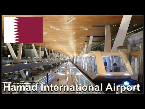 Hamad International Airport,  Doha,  Qatar August 2017