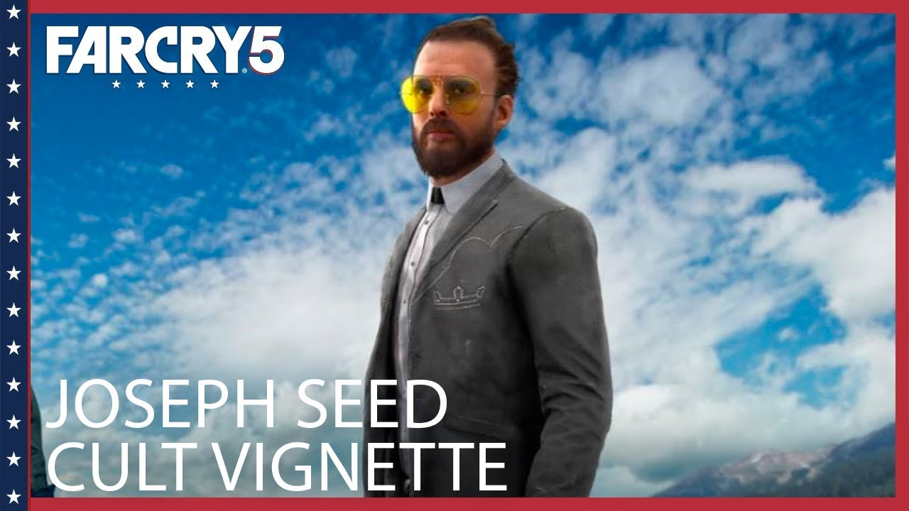 Far Cry 5 Joseph Seed The Father Character Spotlight Youtube
