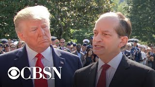 Special Report: Labor Secretary Alex Acosta resigns amid criticism of Jeffrey Epstein plea deal