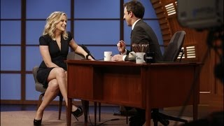 Late Night With Seth Meyers Premieres With Amy Poehler and Joe Biden! | POPSUGAR News