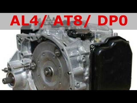 Замена и проверка уровня масла в АКПП AL4/DP0
