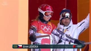 Ester Ledecka beats Joerg to claim Womens Parallel Giant Slalom Gold PyeongChang 2018