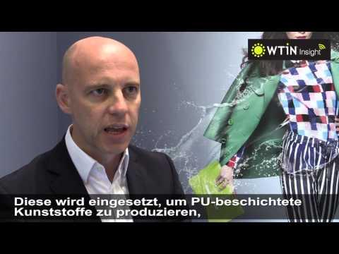 """Bayer MaterialScience Techtextil 2015 - """"Deutsche Untertitel"""""""