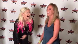 Alexa Bliss helps a WWE fan propose to his girlfriend thumbnail