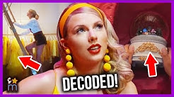 "Taylor Swift ""Lover"" Music Video DECODED! Easter Eggs, Callbacks & More!"