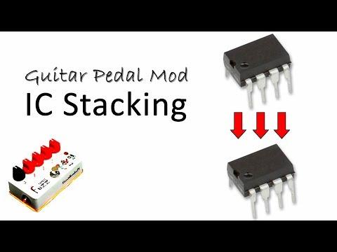 Guitar Pedal Mod - IC Stacking