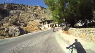 Μάταλα - Ζαρός - Κρήτη - Mountainbiketour - von Matala nach Zaros am Fuße des Psiloritis.