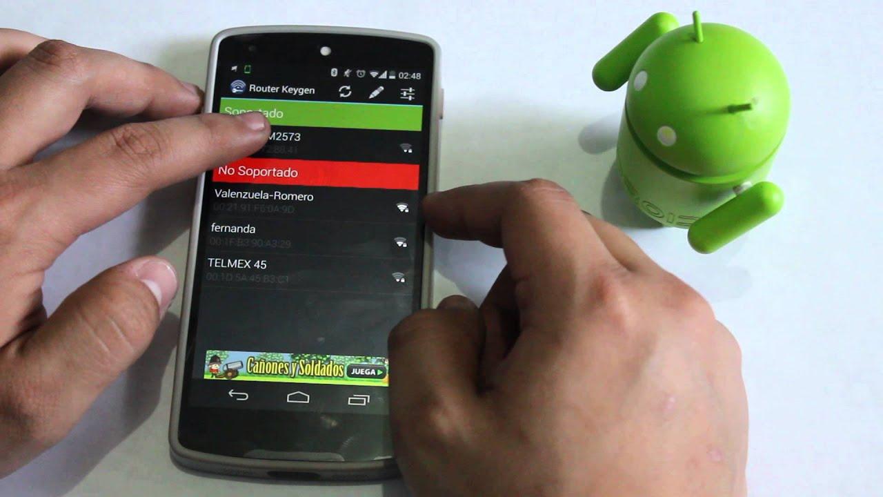 app router keygen para android gratis