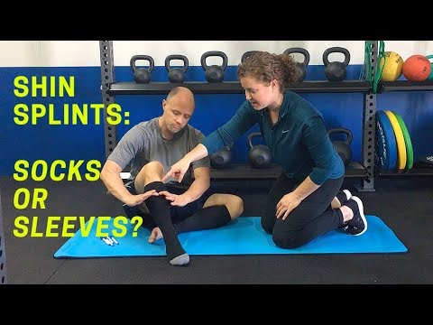 How to Choose Compression Socks or Sleeves for Shin Splints