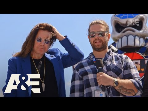 Ozzy And Jack's World Detour: NASCAR | New Episodes Wednesday At 10/9c | A&E