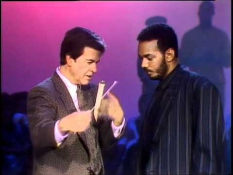 Dick Clark Interviews James Ingram - American Bandstand 1986