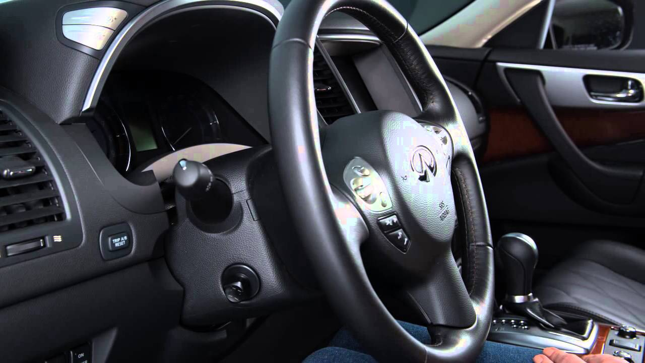 2016 Infiniti QX70  Tilt and Telescopic Steering Column if so