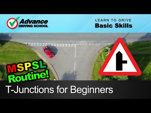 T-Junctions for Beginners  |  Learning to drive: Basic skills