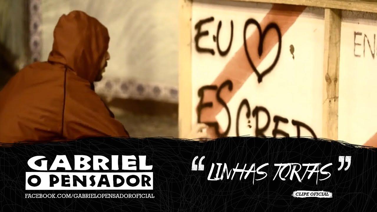 Gabriel O Pensador Linhas Tortas Clipe Oficial Youtube