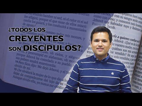 ¿Todos Los CREYENTES Son DISCÍPULOS? 👣 - Giancarlo Montemayor