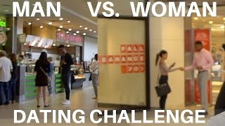 Girl vs Guy Approach Strangers For Their Number | INCREDIBLE  Results!