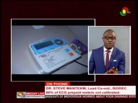 MiddayLive - Business - 80% of ECG prepaid meter not calibrated - 30/5/2016