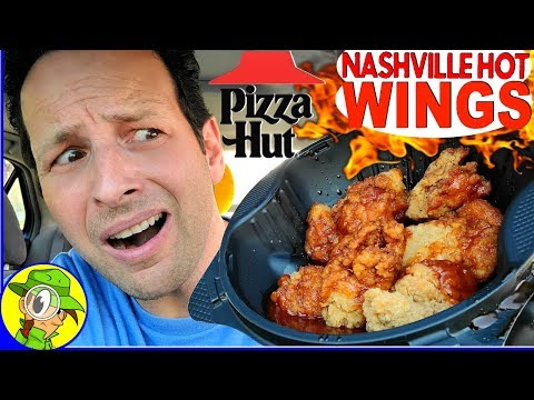 Pizza Hut® | NASHVILLE HOT WINGS Review 🤯🔥🍗 | Peep THIS Out! 🍕