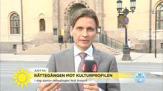 Idag startar rättegången mot kulturprofilen - Nyhetsmorgon (TV4)
