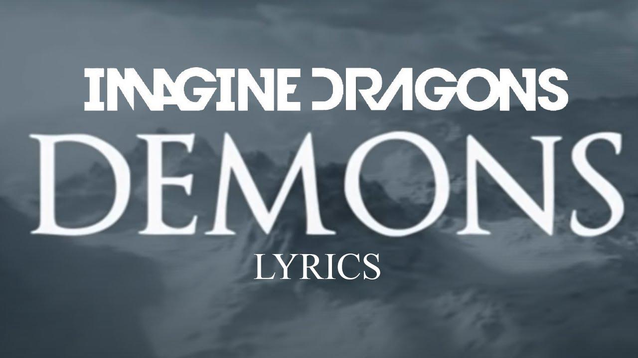 Fail Quotes Wallpaper Imagine Dragons Demons Lyrics Youtube