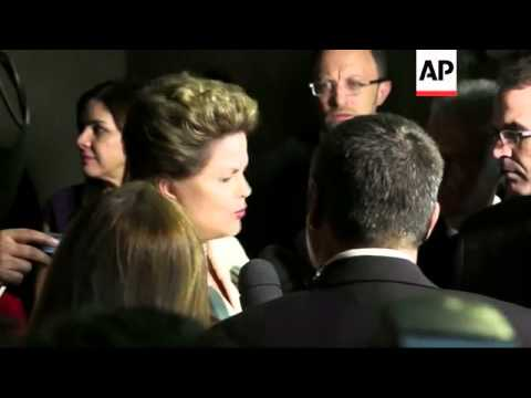 Dilma Rousseff face-to-face with rival Marina Silva