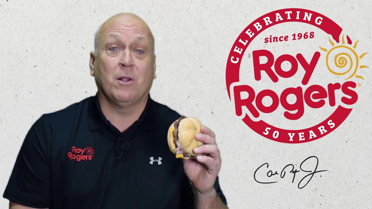 Double R Bar Burger Rollback Featuring Cal Ripken Jr Roy Rogers Restaurants