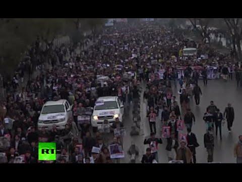 ISIS beheadings of Shiite Hazaras spark biggest protest in Afghanistan in years