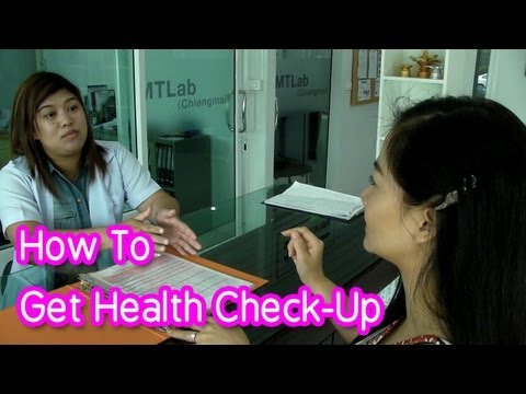 Learn Thai : Get a health check-up in Thailand
