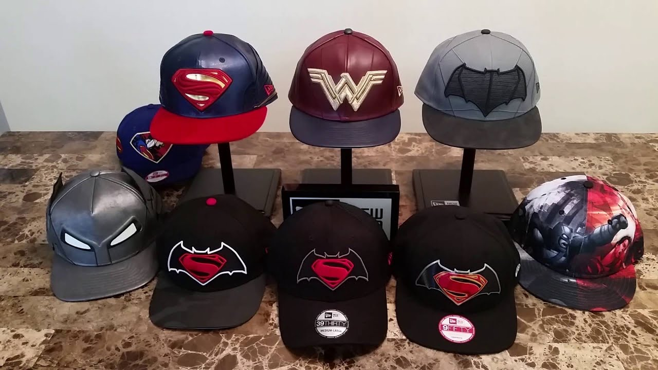 New Era Batman Vs Superman Hat collection - YouTube efed1473a6c