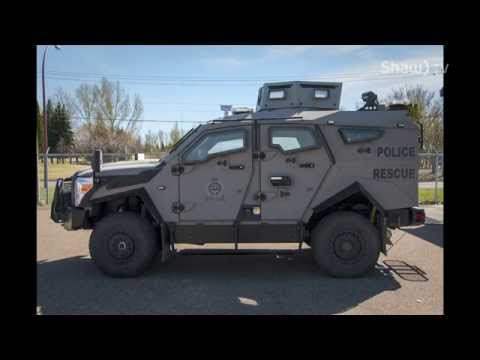 Walking the Beat with the MHPS: Armoured Rescue Vehicle
