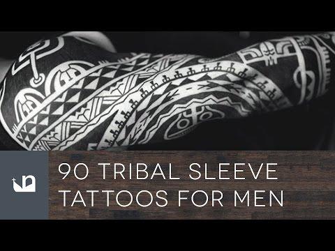 90 Tribal Sleeve Tattoos For Men