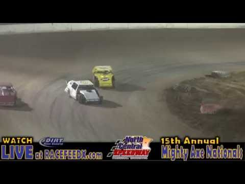 North Central Speedway 8/20/16 IMCA Northern Sportmod Finish