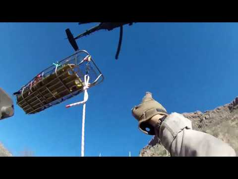 CBP Helicopter Used to Rescue Hiker
