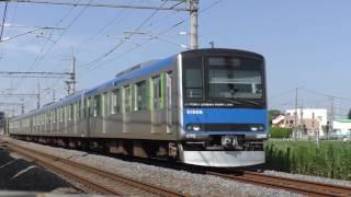 東武60000系61606F豊春~八木崎通過