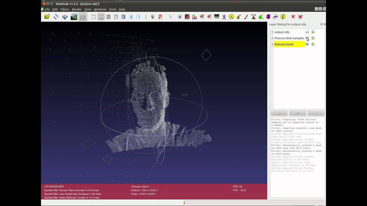 Kinect+Processing+Meshlab
