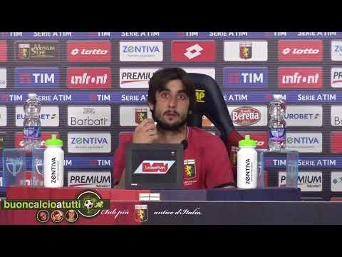 Genoa, il saluto commosso di Perin dalla sala stampa del Ferraris